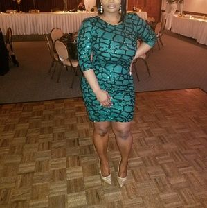 Size 10 Boho Midi Dress